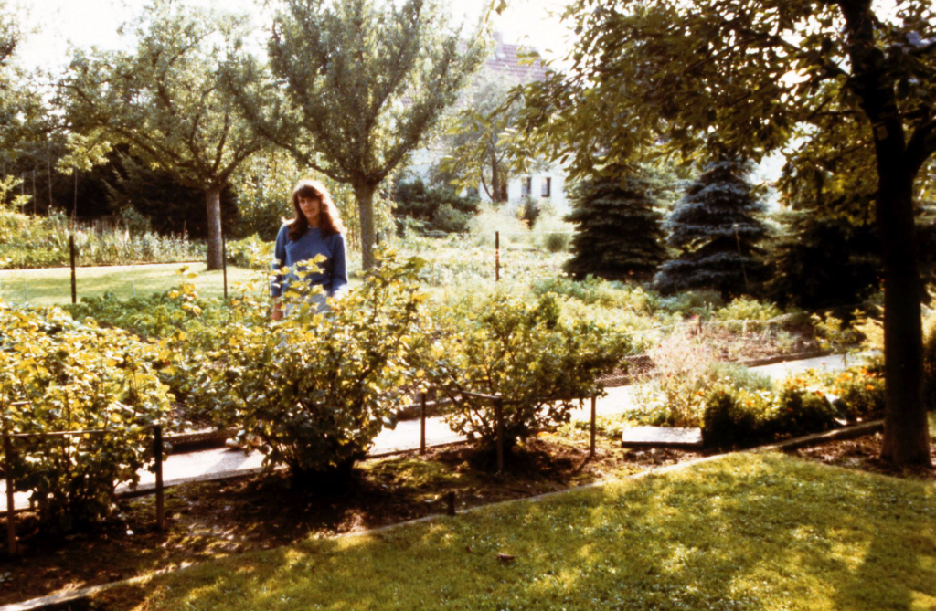 Die Gärten sind heute überwiegend Freizeitbereiche für jung und alt... (Hermeke)