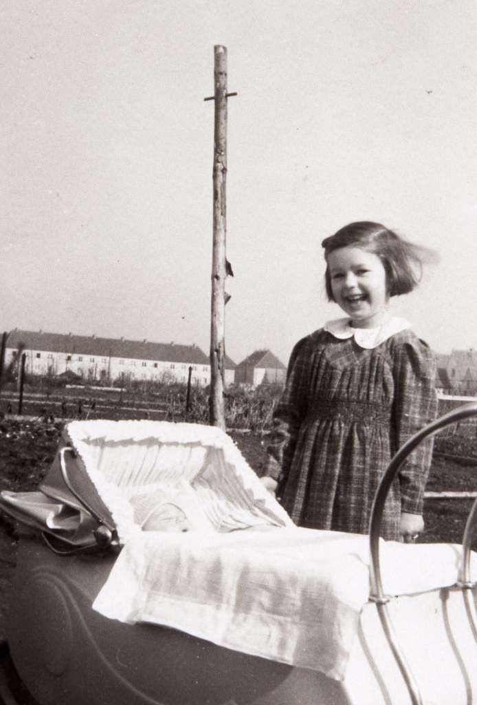 Wie in vielen Bereichen spielen auch in einer Siedlergemeinschaft die Kinder die wichtigste Rolle...